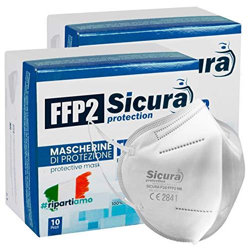 20 mascherine protettive ffp2 certificate ce made in italy mascherine sigillate singolarmente p20