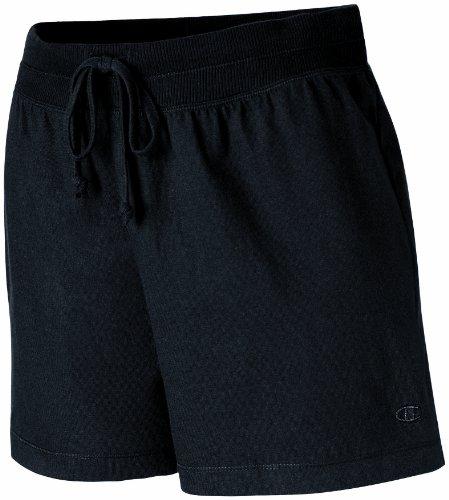Champion Women's Favorite Short, Black, X-Large