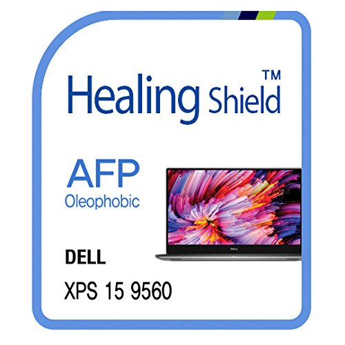 - Screen Protector for Dell XPS 15 9560 TouchScreen/Dell XPS 15 9550 TouchScreen, AFP Oleophobic Coating Screen Protector Clear LCD Guard Healing Shield Film