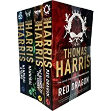 Hannibal Lecter Series Collection 4 Books Set by Thomas Harris (Red Dragon, Silence Of The Lambs, Hannibal, Hannibal Rising)