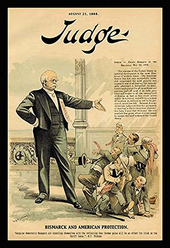 Judge Magazine: Bismarck and American Protection 20x30 poster
