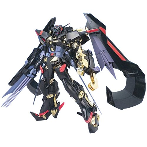 Bandai Hobby Seed Destiny #13 Gundam Astray Gold Frame Amatu Mina Gundam Seed Astray 1/100 - Gold Model Kit