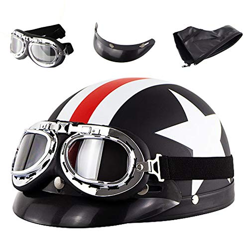 captain america motorcycle helmet - 9