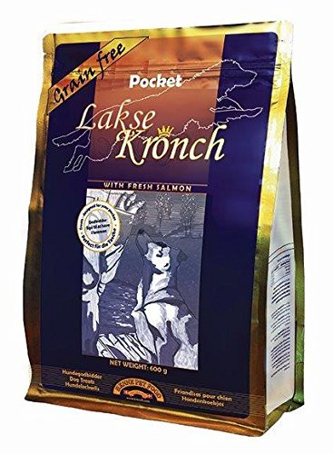 Image of Kronch Pocket Organic All Natural Healthy Salmon and Potato No Grain No Gluten Dog Treats / Snacks / Biscuits (21.2 oz)