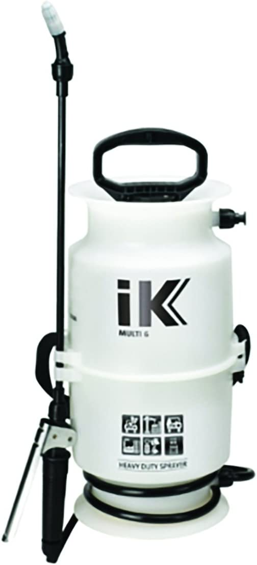 ULTRASOURCE iK 1.06 Gallon Multipurpose Compression Sprayer for Car Detailing, Herbicides, Pesticides, Fertilizers, Cleaners Degreasers