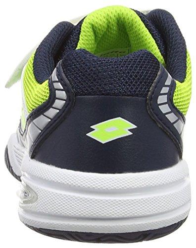 LottoSTRATOSPHERE III CL S - Zapatillas de Tenis Niños-Niñas Blanco - Weiß (WHT/CLOV FL)
