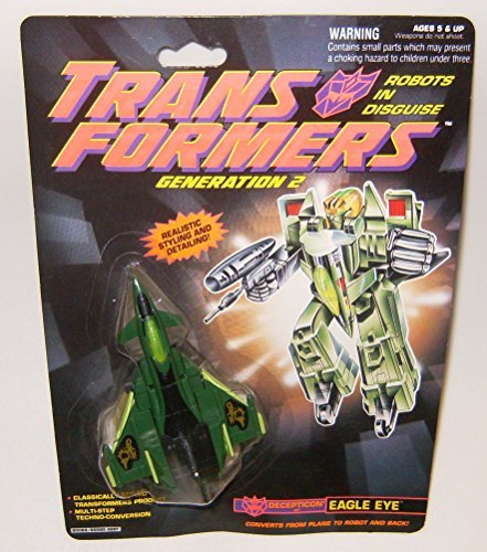 Transformers Generation 2 Eagle Eye Green And Black Action Figure