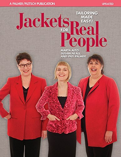 Jackets for Real People: Tailoring Made Easy (Sewing for Real People series) by Marta Alto (2006-09-01)