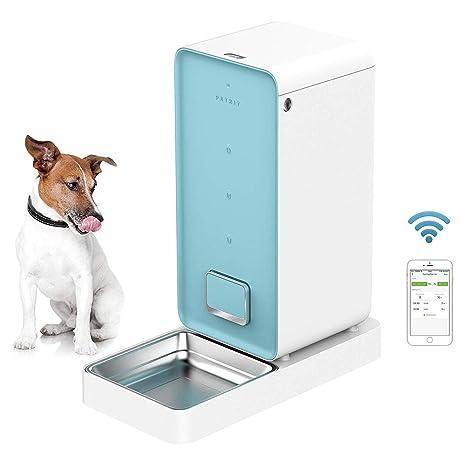 Alimentador AutomáTico De Mascotas para Perros Y Gatos - App De Control - Controlado por TeléFono