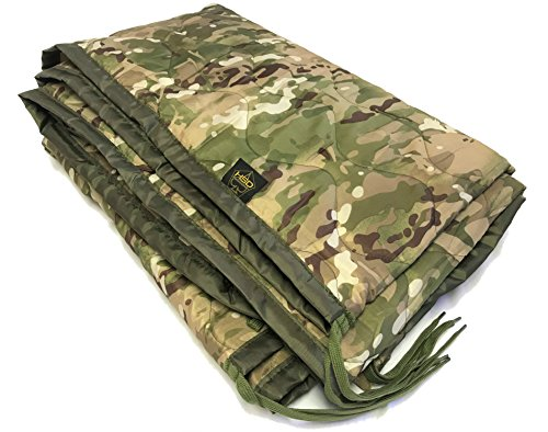 HighSpeedDaddy HSD Mini Woobie Military Style Poncho Liner Kids Baby Blanket (Multicam, Adult) ()