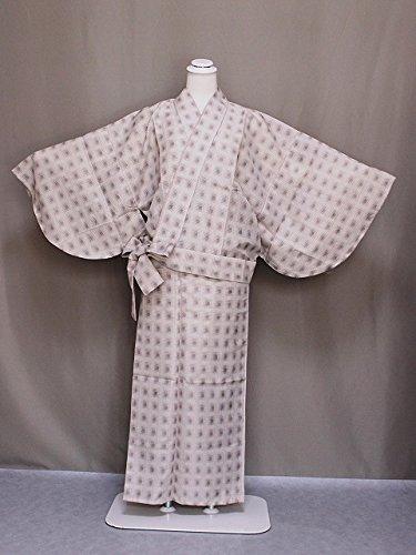 紗の二部式着物 夏のきもの 洗える紗の着物 夏用の二部式きもの 仕立上がり夏用二部式 Mサイズ C0563-14M