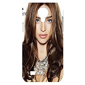Eye-Catching Bling Sliver Dressed Miranda Kerr Phone Case Cover For Samsung Galaxy S4 Mini