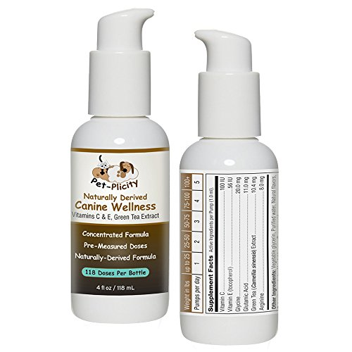 Pet Vitamins Supplements for Dogs - Promotes Good Health - Can Help Strengthen The Dog Immune System - Also Contains Glutamic Acid and Arginine