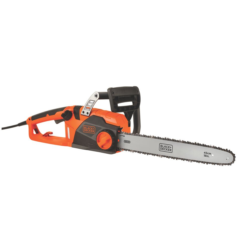 BLACK+DECKER CS1518 15-Amp Corded Chainsaw, 18-Inch