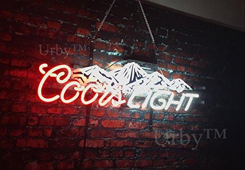 Coors Light Neon Sign - UrbyTM 20