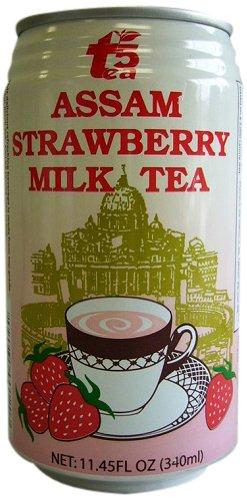 Tea5 Assam Milk Tea, Strawberry, 11.45 Ounce (Pack of 24)