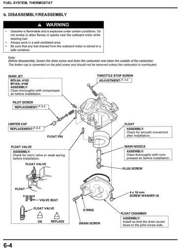 amazon com honda bf9 9 bf15 marine outboard service repair shop rh amazon com Honda Manual Transmission Fluid Honda Type R