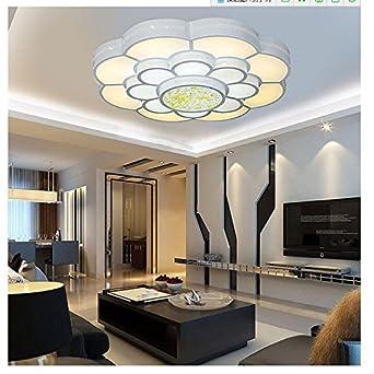 Runde LED-Lampe Pflaumenblüten Wohnzimmer moderne, minimalistische ...