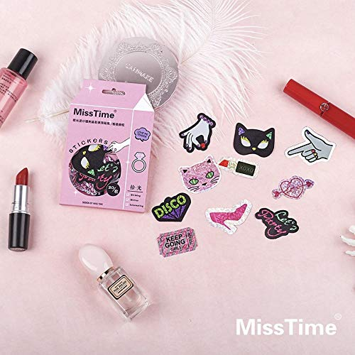 (Cute Sticker - Pink Memory Party Queen Shining Stickers Decorative Stationery Stickers Scrapbooking DIY Diary Album Stick Lable )
