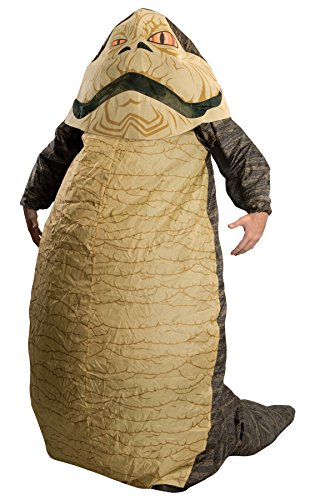UHC Men's Star War Jabba The Hutt Inflatable Funny Theme Party Halloween Costume, OS -