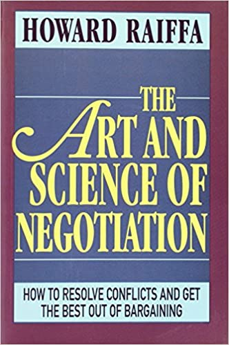 The Art And Science Of Negotiation Howard Raiffa Pdf Download