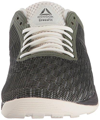 Reebok Women's CrossFit Nano 8.0 Sneaker, Hunter Green/Coal/Chalk, 5 M US by Reebok (Image #4)