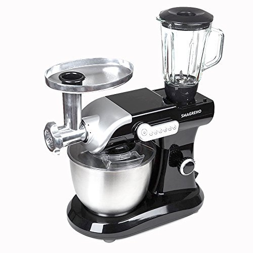 SMAGREHO 6-Quart Classic Series Tilt-Head Stand Mixer with Pouring Shield Include Blender (Advantage Comprehensive Coverage)