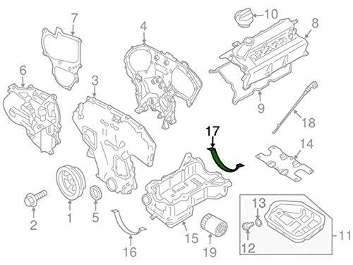 Nissan 11121-7Y000, Engine Oil Pan Gasket