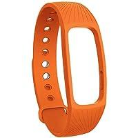 Man9Han1Qxi Bracelet de Montre de Rechange étanche pour Montre connectée ID107 Orange