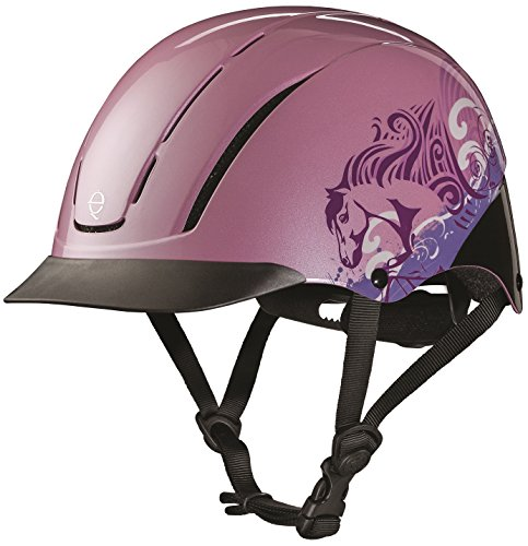 Chart Size Troxel Helmet (TROXEL PINK DREAMSCAPE SPIRIT 2017 DESIGN ♦ #1 EQUESTRIAN RIDING ADJUSTABLE HELMET ♦ ASTM/SEI CERTIFICATION ♦ All Sizes (Large))