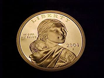 2004 Gem Proof Sacagawea Native American Dollar