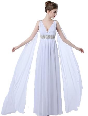 Formaldresses Beach Maternity Greek Style Wedding Dress Watteau ...