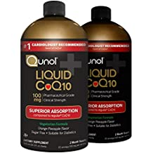 Qunol Liquid CoQ10 100mg, Superior Absorption Natural Supplement Form of Coenzyme Q10, Antioxidant for Heart Health, Orange Pineapple Flavored, 120 Servings