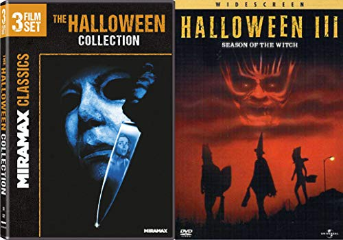 Must Be the Season of the Witch - The Halloween 3 Film Set Collection (Halloween: H20, Halloween: Ressurection, Halloween: The Curse of Michael Myers) & Halloween III: The Season of the Witch 4-Movie