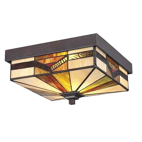 Lámpara de techo estilo Tiffany, apliques y lámpara de pared ...