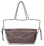 Vercord Handbag Purse Tote Pocketbook Organizer Insert Zipper Clousure 11 Pockets, Footprint L