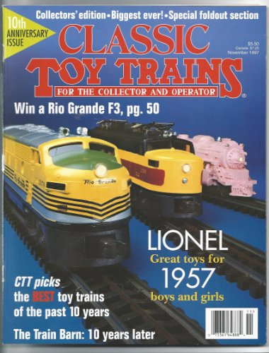 (Classic Toy Trains Magazine (For the Collector and Operator, December 1997, Vol. 10))