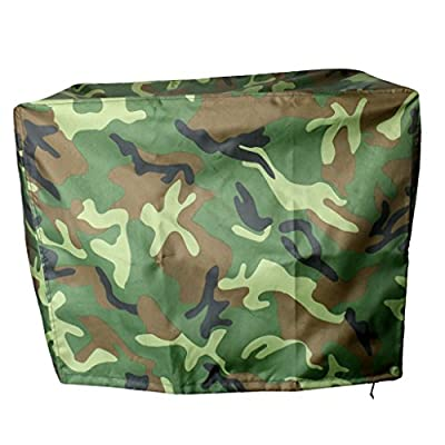 Baoblade Baoblaze Outboard Motor Cover - Heavy Duty Waterproof Boat Motor Hood Cover for 2-300 HP Speed/Rib - Camo, for 30-90 HP Engines