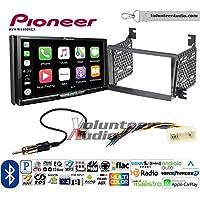 Volunteer Audio Pioneer AVH-W4400NEX Double Din Radio Install Kit with Wireless Apple CarPlay, Android Auto, Bluetooth Fits 2006-2008 Hyundai Azera