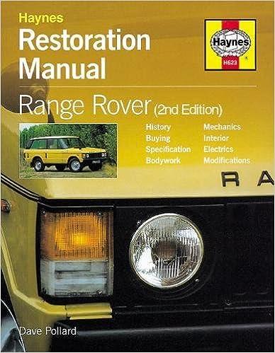 Restoration manual range rover restoration manuals dave pollard restoration manual range rover restoration manuals 2nd edition fandeluxe Images