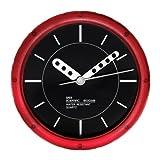 Water Resistant Wall Clock | Red | Sper Scientific | 810034R