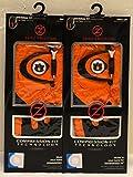 2 Zero Friction Men's Left Hand Universal Golf Gloves - Auburn - Orange