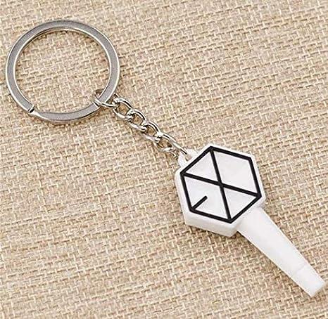 Amazon.com: Kpop BTS GOT7 EXO - Llavero con colgante de gel ...