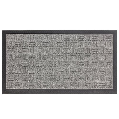 JVL Firth Carpet Rubber Backed Entrance Door Mat Plastic Grey 40 x 70 cm Amazon.co.uk Kitchen \u0026 Home  sc 1 st  Amazon UK & JVL Firth Carpet Rubber Backed Entrance Door Mat Plastic Grey 40 ...