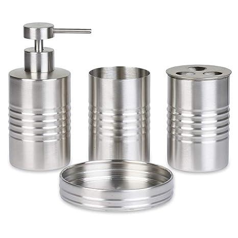 Amazon.com: Durable y elegante acero inoxidable baño ...