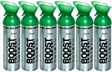 95% Pure Oxygen Supplement, Portable Canister of Clean Oxygen, Increases Endurance, Recovery, Mental Acuity and Performance (10 Liter Can - 6 Pack - Natural)