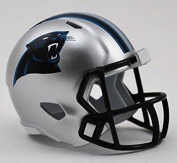 f812551d5be Riddell NFL Speed Pocket Pro Helmets - Panthers  Amazon.co.uk ...