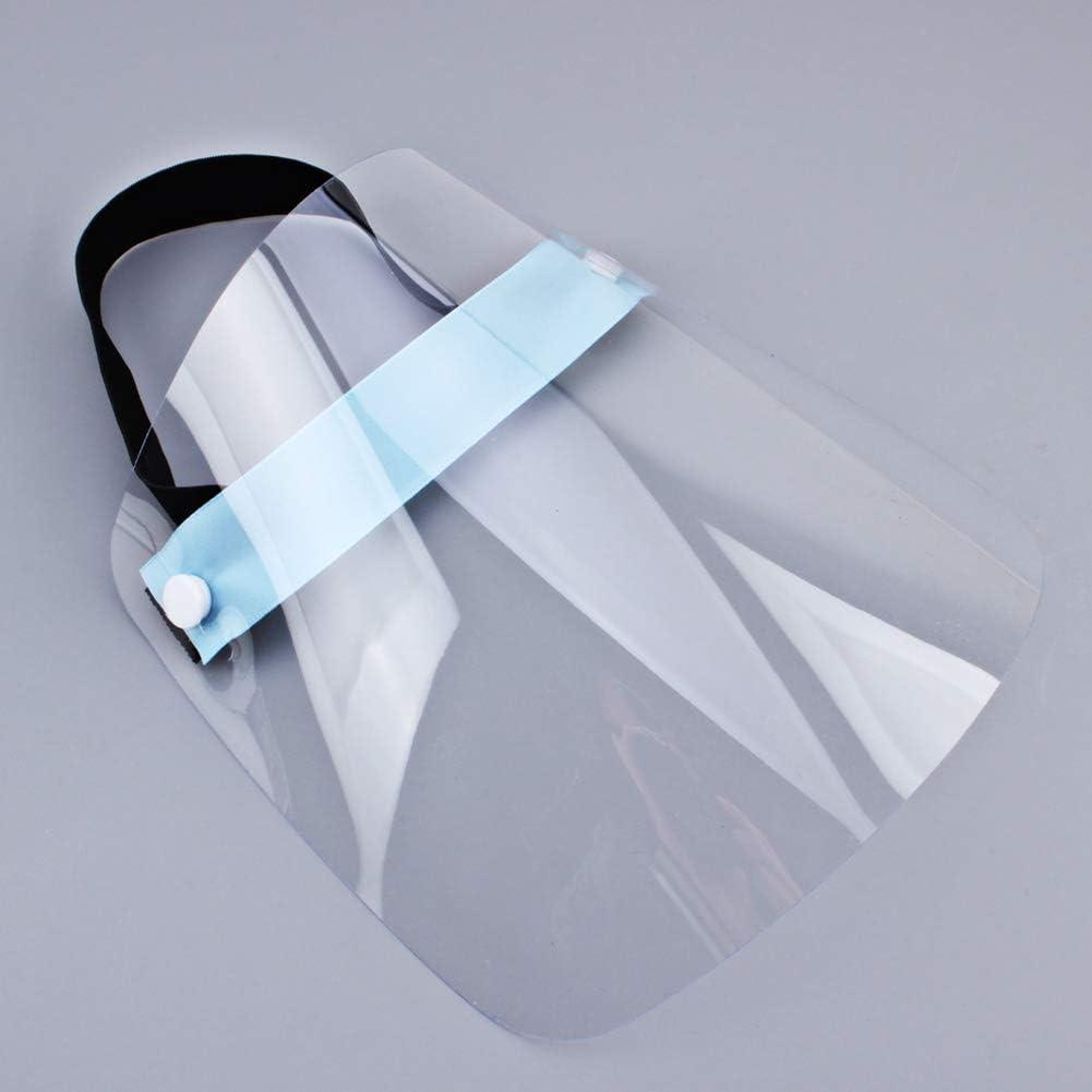 trasparente e affusolato antipolvere FANTESI Visiera protettiva anti-goccia anti-appannamento paraspruzzi protegge la visiera