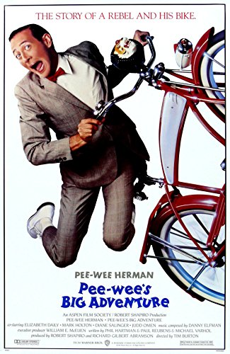 Pee-wee's Big Adventure (1985) Movie Poster 24x36 inches