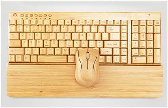 NOY Teclado inalámbrico, teclado y ratón inalámbrico, teclado ...